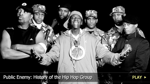 Public Enemy: History of the Hip Hop Group