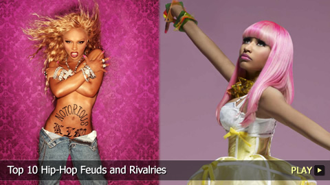 Top 10 Hip-Hop Feuds and Rivalries