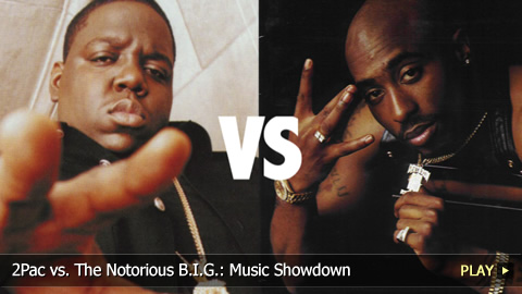 2Pac vs. The Notorious B.I.G.: Music Showdown