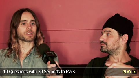 10 Questions with 30 Seconds to Mars