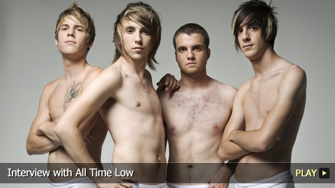 Interview with All Time Low