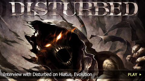 Interview with Disturbed on Hiatus, Evolution