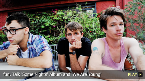 fun. Talk 'Some Nights' Album and 'We Are Young'