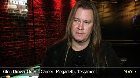 Glen Drover On His Career: Megadeth, Testament