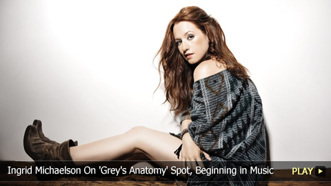 Ingrid Michaelson On 'Grey's Anatomy' Spot, Beginning in Music
