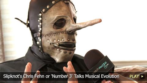 Slipknot's Chris Fehn or 'Number 3' Talks Musical Evolution