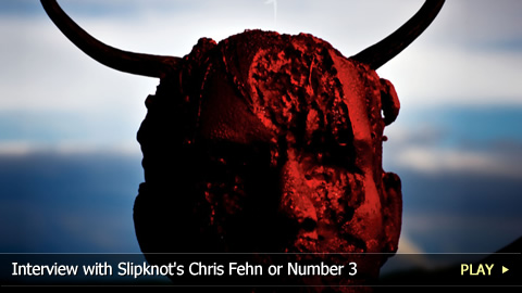 Interview with Slipknot's Chris Fehn or Number 3