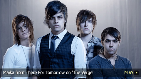 Maika from There For Tomorrow on 'The Verge'