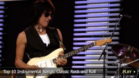 Top 10 Instrumental Songs: Classic Rock and Roll