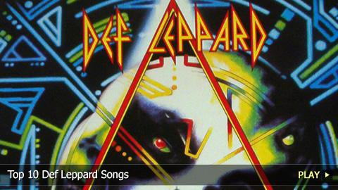 Top 10 Def Leppard Songs