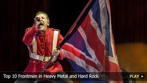 Top 10 Frontmen in Heavy Metal and Hard Rock