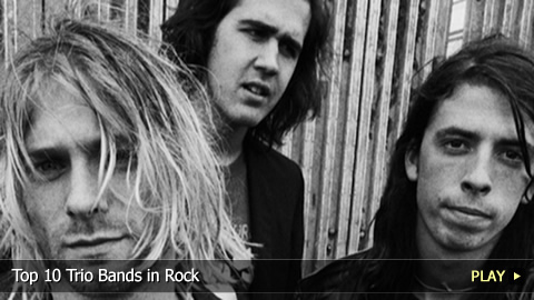 Top 10 Trio Bands in Rock