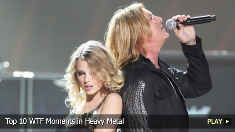 Top 10 WTF Moments in Heavy Metal