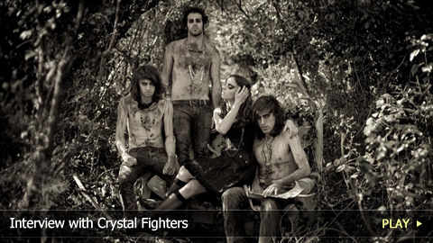 Interview with Crystal Fighters