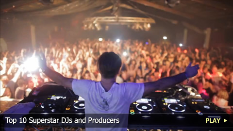 Top 10 Superstar EDM DJs and Producers of All Time
