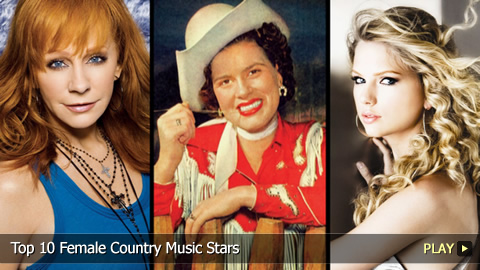 Top 10 Female Country Music Stars