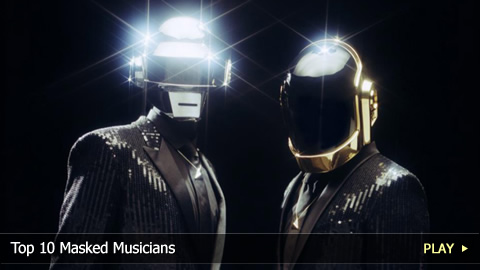 Top 10 Masked Musicians
