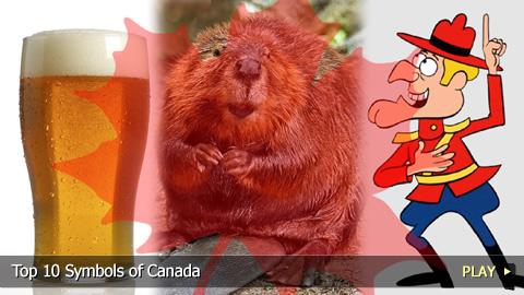 Top 10 Symbols of Canada