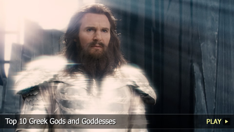 Top 10 Greek Gods and Goddesses
