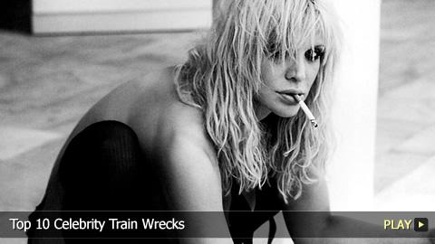 Top 10 Celebrity Train Wrecks