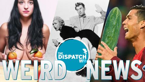 Naked Restaurants, Staff Spankings & Psychic Cucumbers: The Dispatch #29