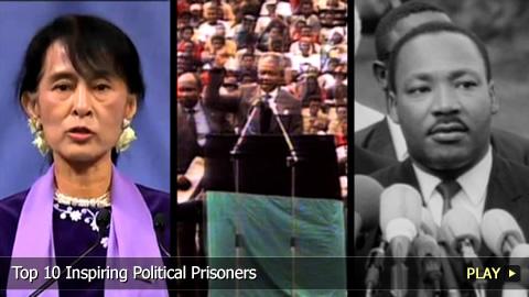Top 10 Inspiring Political Prisoners