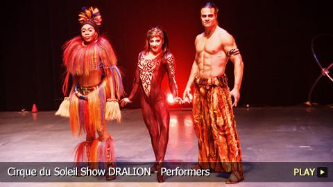 Cirque du Soleil Show DRALION - Performers