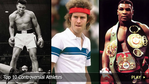 Top 10 Controversial Athletes