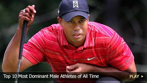 Top 10 Most Dominant Male Athletes of All Time