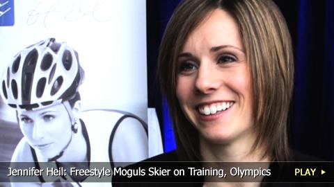 Jennifer Heil: Freestyle Moguls Skier on Training, Olympics