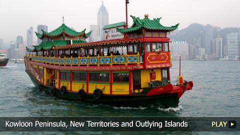 Hong Kong's Kowloon Peninsula, New Territories and Outlying Islands