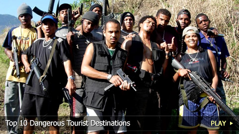 Top 10 Dangerous Tourist Destinations
