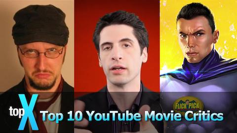 Top 10 YouTube Movie Critics - TopX Ep. 1
