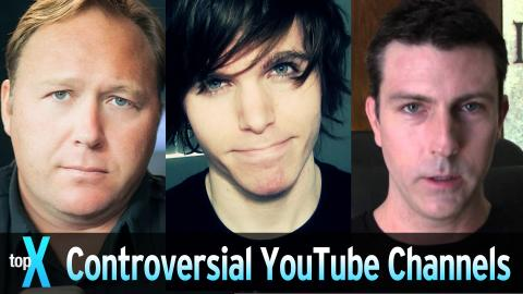 Top 10 Controversial YouTube Channels - TopX