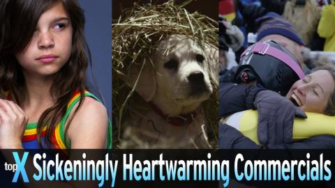 Top 10 Sickeningly Heartwarming Commercials on YouTube -  TopX Ep.33