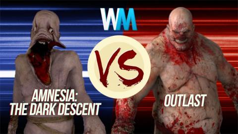 Amnesia: The Dark Descent vs. Outlast