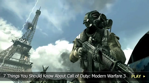 7 Things You Should Know About Call of Duty: Modern Warfare 3