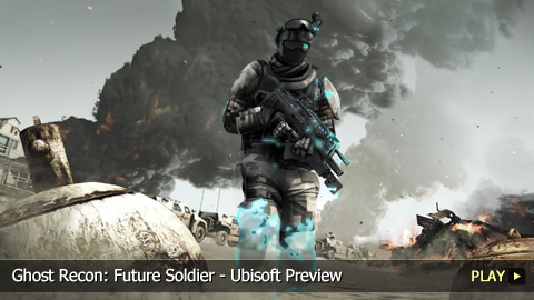 Ghost Recon: Future Soldier - Ubisoft Preview