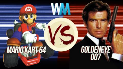 GoldenEye 007 Vs Mario Kart 64