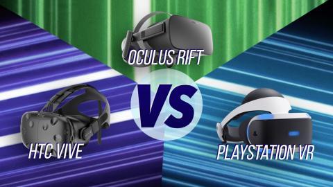 HTC Vive vs Oculus Rift vs Playstation VR!