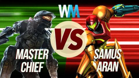 Master Chief Vs Samus Aran!
