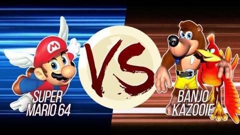 Super Mario 64 VS Banjo-Kazooie