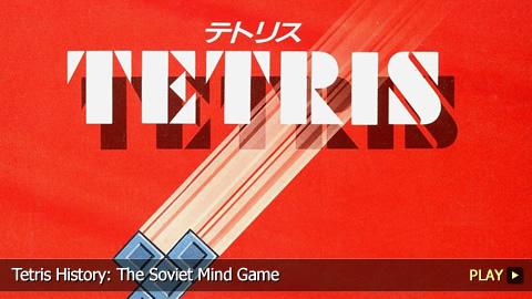 Tetris History: The Soviet Mind Game