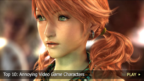 Top 10: Annoying Video Game Characters