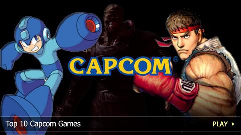 Top 10 Capcom Games