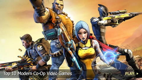 Top 10 Modern Co-Op Video Games