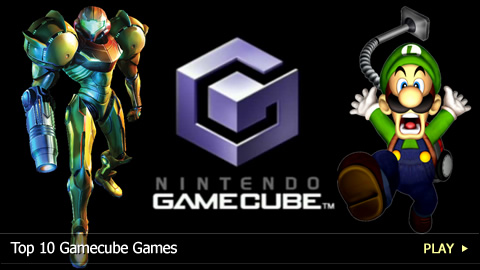 Top 10 Gamecube Games