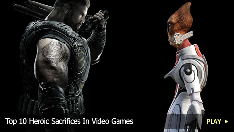Top 10 Heroic Sacrifices In Video Games