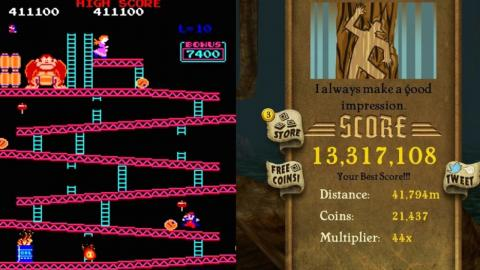 Top 10 High Score Based Video Games