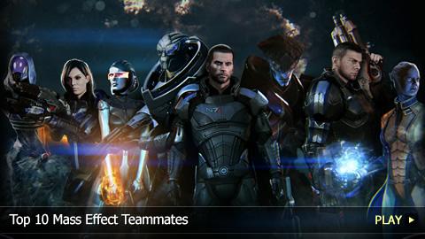 Top 10 Mass Effect Teammates